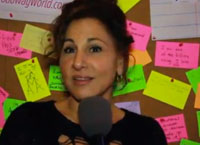 Kathy Najimy on Eve Ensler